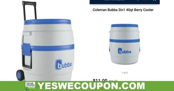 Coleman Bubba 2in1 Cooler