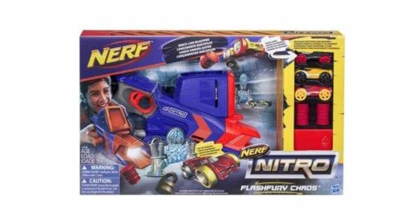 Nerf Nitro Flash Fury Chaos Gun