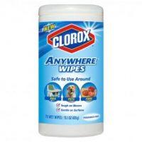 $1 Clorox Bleach Wipes (75 ct) STOCK UP!