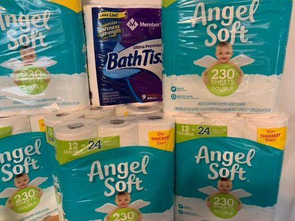 Toilet Paper Back In Stock online!