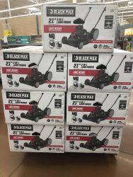 Black Max 21-Inch Lawn Mower HOT