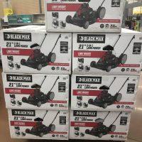 Black Max 21-Inch Lawn Mower HOT Walmart Clearance!