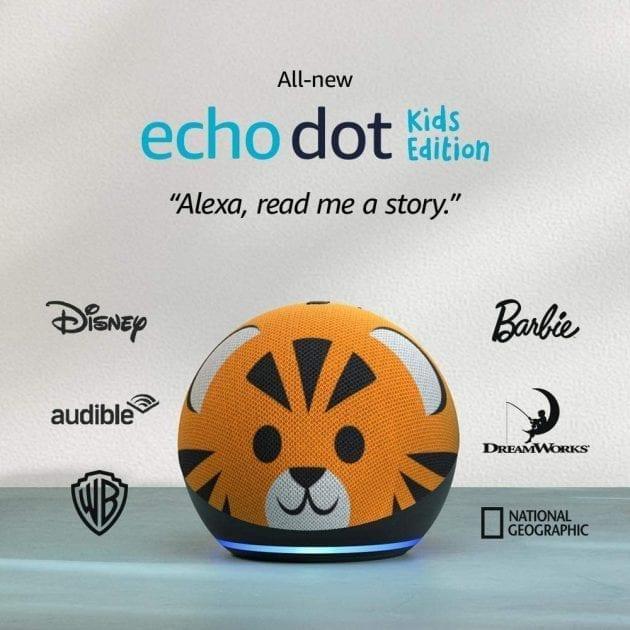 Echo Dot 4th Gen Kids Edition at Amazon
