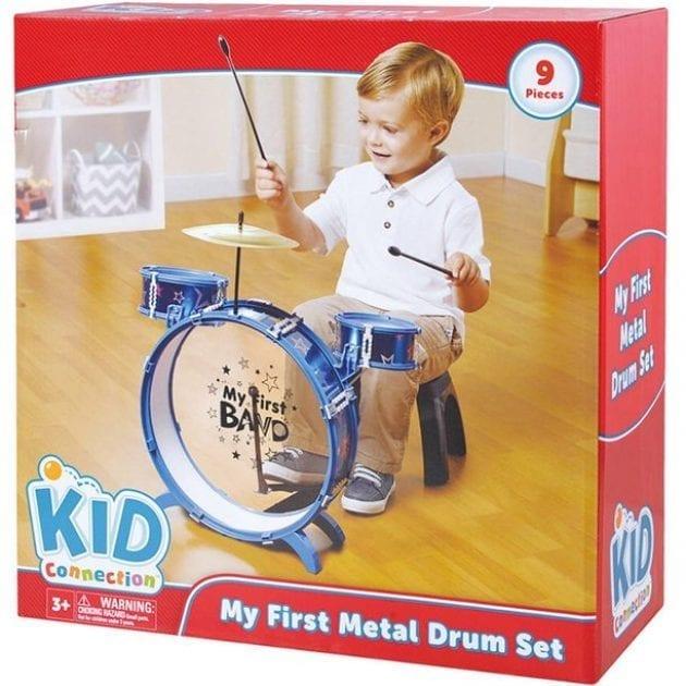 Kid Connection My First Drum Set JUST $1 REG $19.97 at Walmart