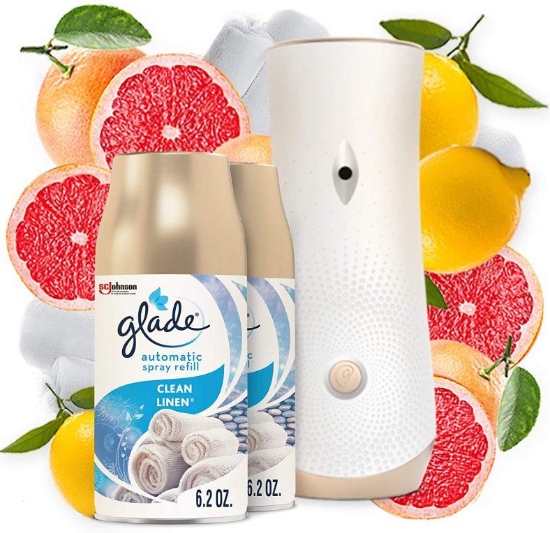 Air Freshener Automatic Spray Glade FREEBIE at Amazon!