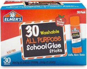 Elmers Glue Sticks 30ct only $5.50 HOT Amazon Lightening Deal!  RUN!