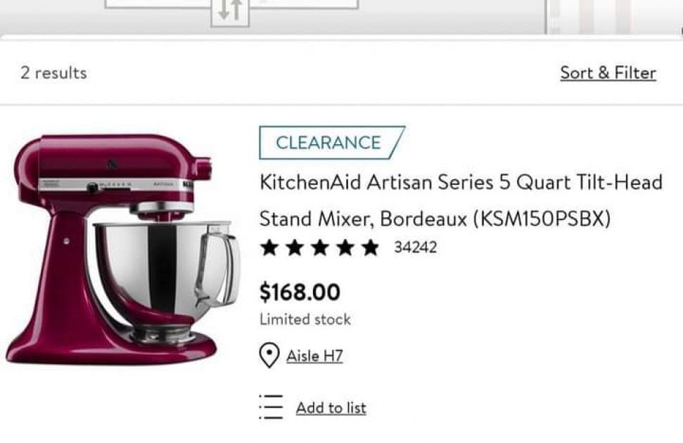 Save Big On KitchenAid Artisan Series