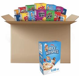 Kellogg's Single Serve Breakfast Cereal 48Ct Only 19¢ On Amazon!