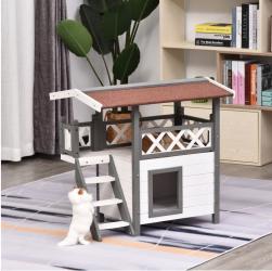 Cat House! Indoor/Outdoor Play and sleep area! HUGE SAVINGS!