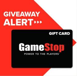 FREE $100 Gamestop Gift Card Giveaway!
