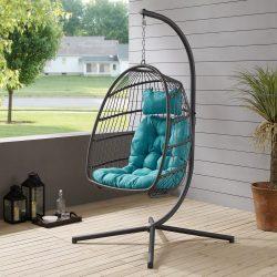 Swinging Patio Egg Chair HUGE Online Markdown!